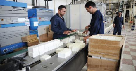 فروش خط تولید صابون بهداشتی